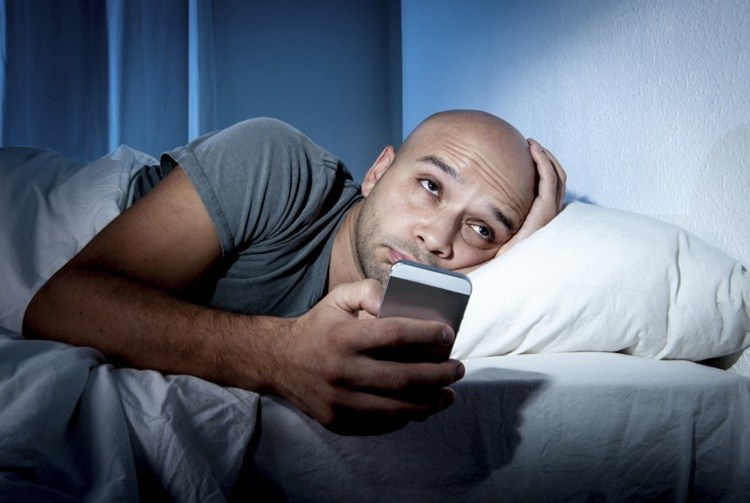 People suffering from lack of sleep
